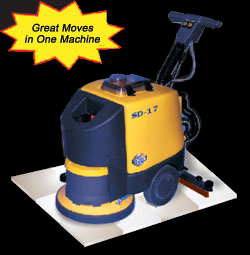 automatic scrubber - electric